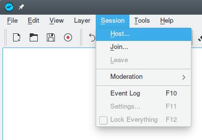Hosting - Help - Drawpile